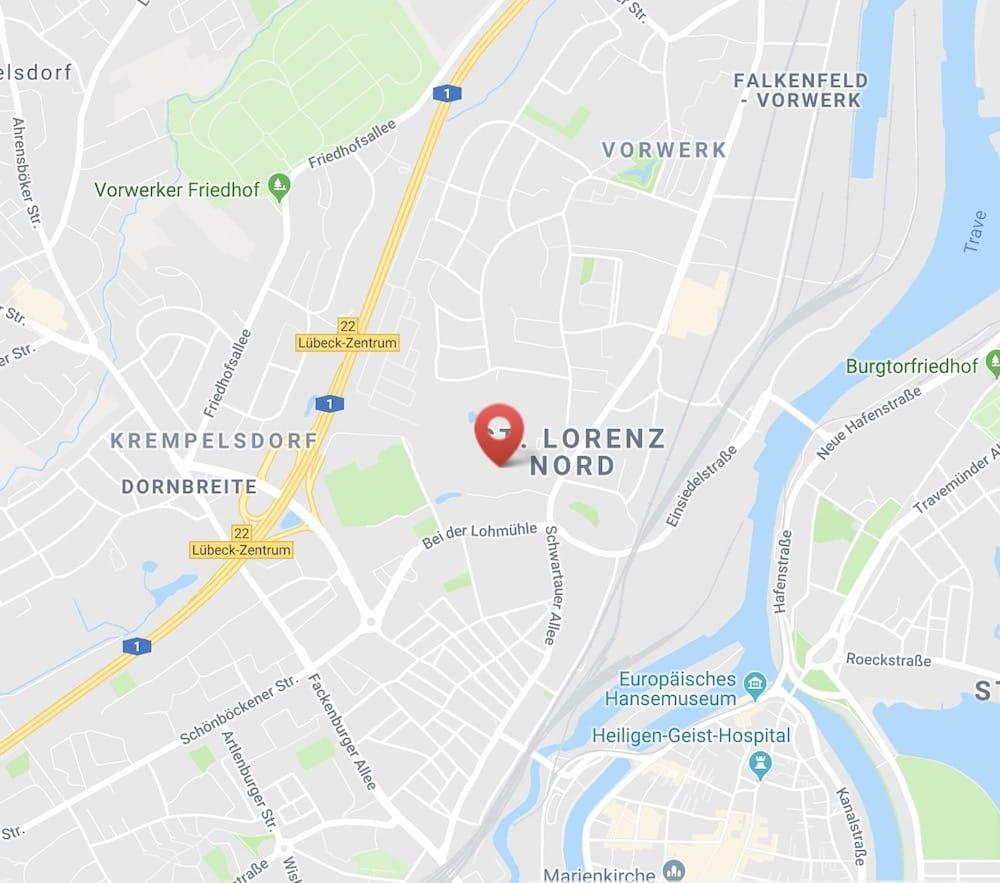 Friedrich-List Schule Lübeck - Anfahrt